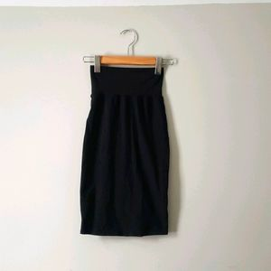 Wilfred black high waisted bodycon skirt